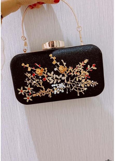 Neue Mode Fairy Cute Flower Diamond Dinner Party Taschen T901556258727