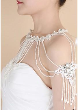 Einfache Quasten Schulterketten T901556433319