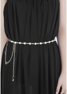Fashion Pearl Waist Chains T901556505796