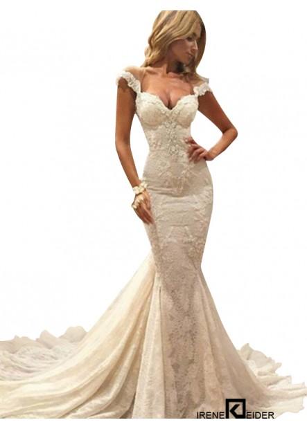 Irenekleider 2021 Beach Lace Wedding Dresses
