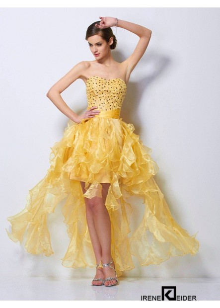 Irenekleider Short Homecoming Prom Evening Dress