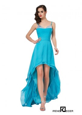 Irenekleider High Low Long Prom Evening Dress