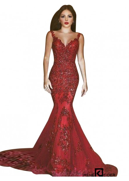 Irenekleider Mermaid Long Prom Evening Dress
