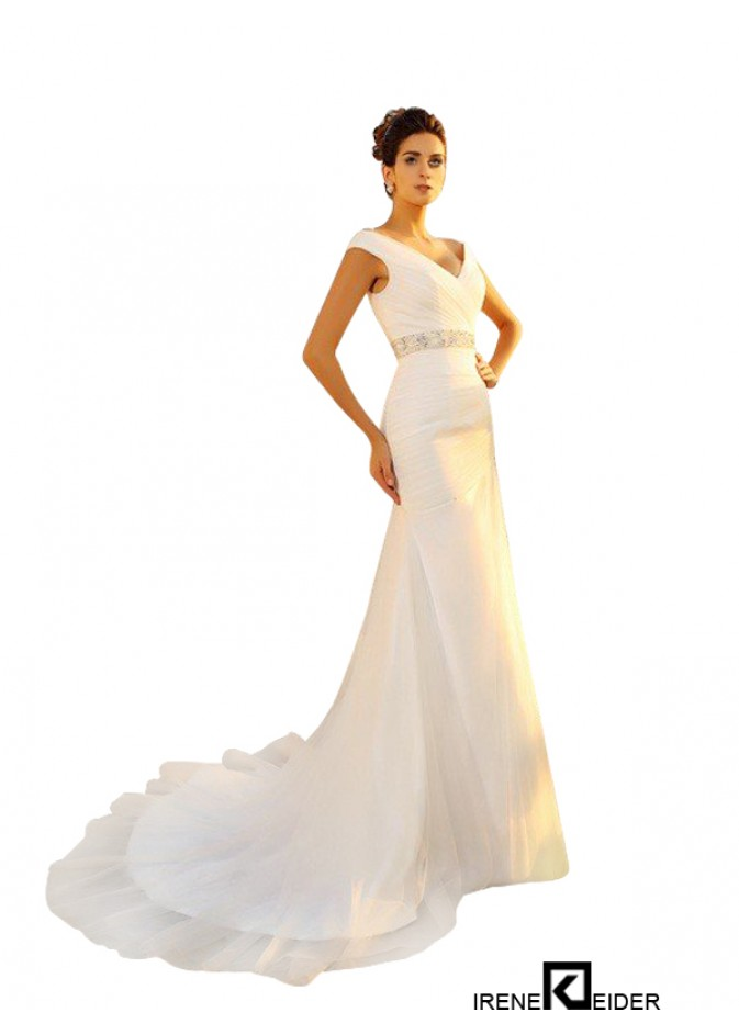 wholesale dealer 9628d fd450 Creme und Blau aus dem asymmetrischen Brautkleid der ...