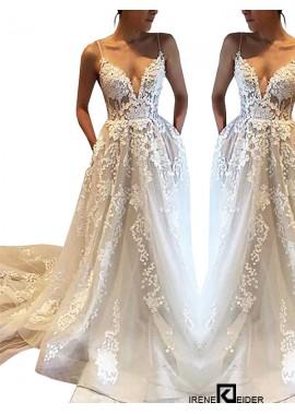 Irenekleider 2021 Beach Wedding Dresses
