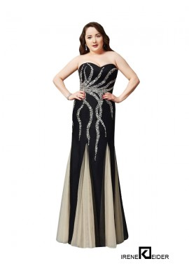 Irenekleider Sexy Plus Size Prom Evening Evening Dress