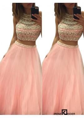 Irenekleider Two Piece Long Prom Evening Dress