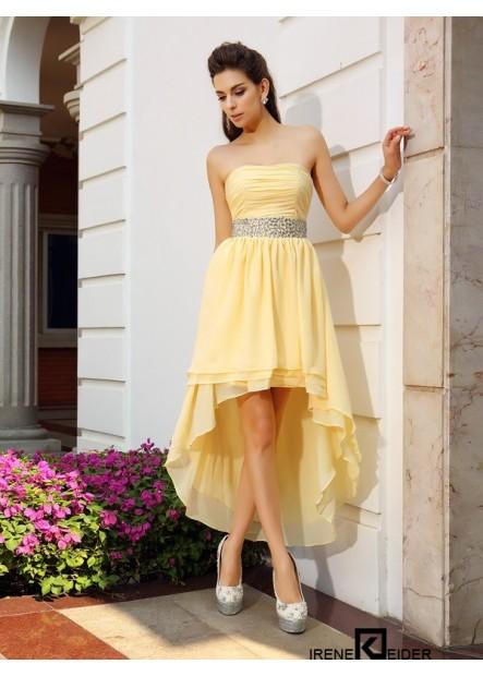 Irenekleider Sexy Short Homecoming Prom Evening Dress