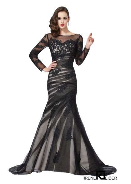 Irenekleider Mermaid Long Prom Evening Dress