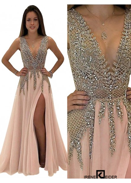 Irenekleider Long Prom Gown Evening Dress