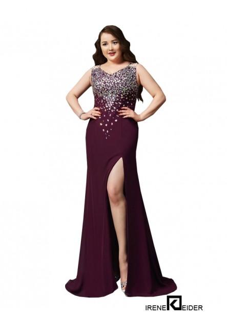 Irenekleider Sexy Plus Size Prom Evening Evening Dress