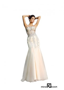Sleeveless Long Mermaid Evening Dress