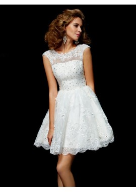 Irenekleider Short Wedding / Prom Evening Dress