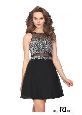 Irenekleider Black 2 Piece Prom Dress