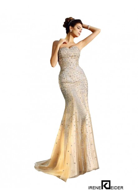 Irenekleider Sexy Mermaid Prom Evening Dress
