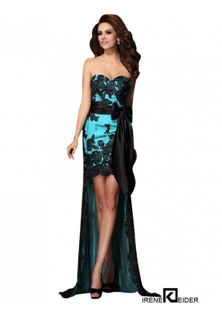 Irenekleider Sexy High Low Prom Evening Dress