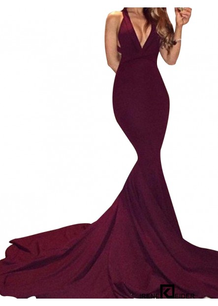 Irenekleider Sexy Junior Mermaid Long Prom Evening Dress