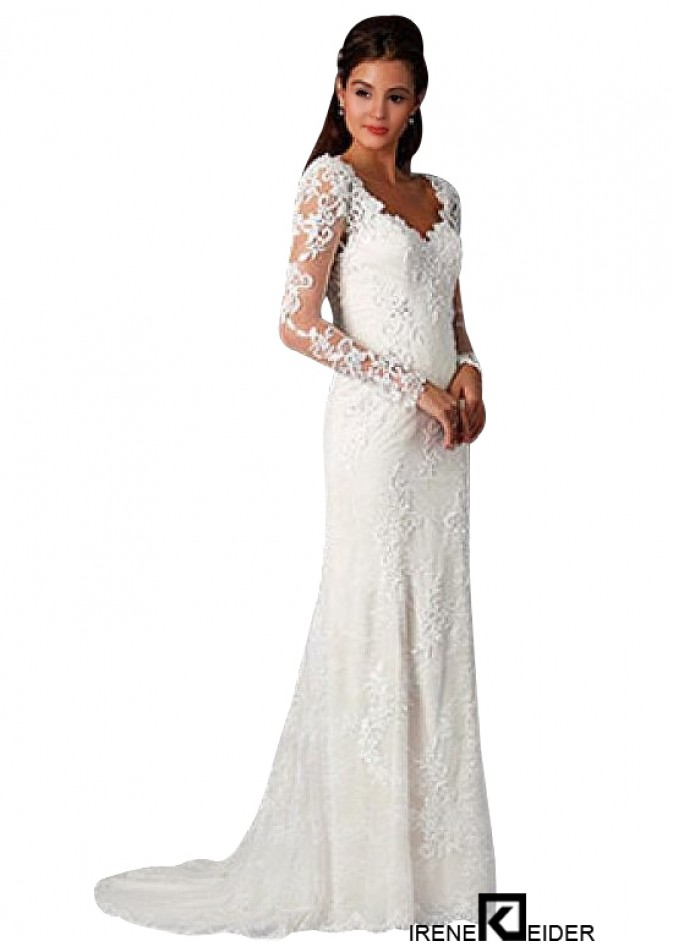 online store 5ae1c 476db Langärmeliges Brautkleid kaufen|Hochzeitskleid für Kinder ...