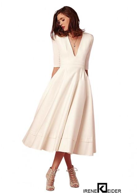 Irenekleider Short Beach Wedding Dress