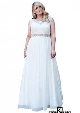 Irenekleider Plus Size Wedding Dress