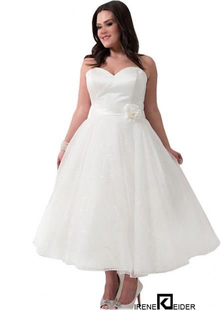 Irenekleider Short Plus Size Wedding Dress