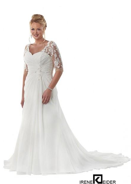 Irenekleider Beach Plus Size Wedding Dresses